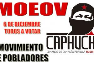 Auch linke Stadtteilgruppen riefen am 6. Dezember 2015 in Venezuela zur Wahl der Regierung auf
