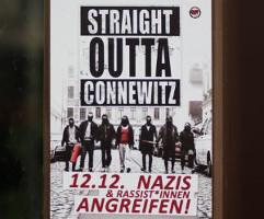 Straight outta Connewitz - 12.12.: Nazis & Rassist*innen angreifen