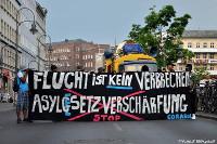 Corasol: Flucht ist kein Verbrechen - Asylgesetzverschärfung stoppen!