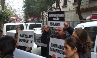 Istanbul: Solidaritätsaktion für Flüchtlinge am 9. Dezember 2015 (Sendika.Org)
