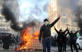 Protest gegen Ausgangssperre in Diyarbakır (Dezember 2015, Sendika.Org))