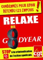 Kampagnenplakat Goodyear Januar 2016