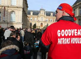 Der letzte Goodyear Streik in Amiens Januar 2014