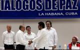 Kolumbianische Friedensverhalungen - Übereinkommen über Opferbetreung im Dezember 2015