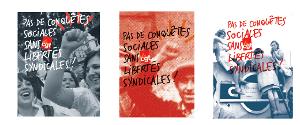 CGT Dokumentation über Einschränkung der Gewerkschaftsrechte in Frankreich - September 2015