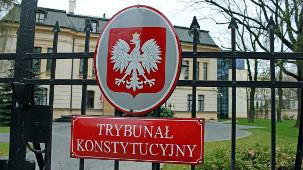 Früher Verfassungsgericht, heute Regierungsbehörde in Polen