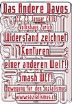 """""""Das Andere Davos"""" vom 22.-23. Januar 2016 im Volkshaus Zürich"""