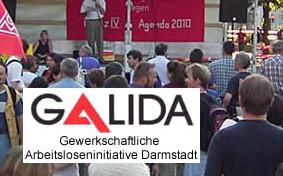 GALIDA- Gewerkschaftliche Arbeitsloseninitiative Darmstadt