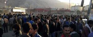 Streik in der petrochemischen Anlage Isfahan am 5.1.2016