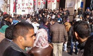 Kasserine im Dauerprotest gegen Erwerbslosigkeit 19.1.2016