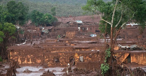 Der Zustand des 'Katatstrophengebiets von Mariana am Neujahrstag 2016