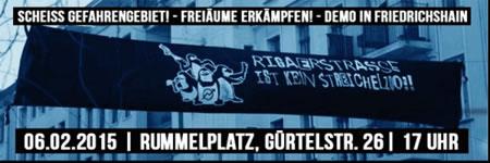 Demo am 6.02 (Berlin): Rebellische Strukturen verteidigen, solidarische Kieze schaffen!