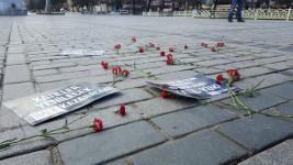 Gedenken an die Opfer des Selbstmordattentats an der Blauen Moschee in Itsanbul (sendika.org)