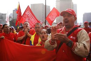 PDVSA und neuer Tarifvertrag - Demo am 4.1.16