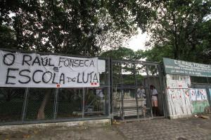 Besetzung gegen Schulreformen jetzt auch im brasilianischen Bundesstaat Goias - Februar 2016