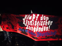 Clausnitz: Kampf den rassistischen Zuständen! Bild: addn