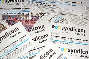 Gewerkschaftszeitung Syndicom Schweiz