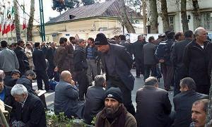 Streik gegen Privatisierung iranischer Zuckerfabrik am 27.2.2016