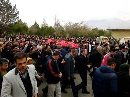 Demo Iranischer Bergarbeiter Februar 2016