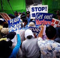 Antikriegsdemo Tokio 20.2.2016
