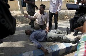 Inayat Raza am 2.2.2016 in Karachi erschossen