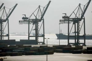 Stillstand: Im Hafen von Piräus wird gestreigt am 16.2.2016
