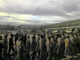 Streik bei Renault Bursa 15.2.2016