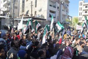 Als es noch Demos in Damaskus gab...2012