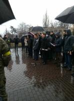 Metallarbeiter der Ukraine im Kampf für Lohnauszahlung am 11.2.2016