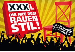 Protestpostkarte an den Eigentümer und die Geschäftsleitung von Mann Mobilia XXXL in Mannheim
