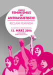 12.3.2016: Bundesweite Demo in Köln gegen Sexismus und Rassismus. Demobündnis fordert eine konsequente und angemessene Änderung des Sexualstrafrechtes