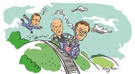 Schienenabbaukonzern Deutsche Bahn. Bündnis Bahn für Alle zum Alternativen Geschäftsbericht der DB AG 2015