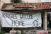 Beserztes Haus Athen März 2016