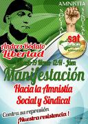 Spanien: Soliplakat für Andres Bodalo (SAT) vom März 2016