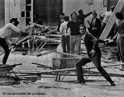 Cordoba 1972: Fiat Arbeiter stürme Gewerkschaftsbüro, Präfektur und Polizeipräsidium - alles kaputt...