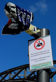 Aktion am Ostersamstag (26.3.16): Datenschützer nehmen illegale Videoüberwachungskameras der Europäischen Zentralbank (EZB) vorübergehend außer Betrieb