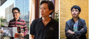 Die drei chinesischen Basisaktivisten sind seit dem 3. Dezember 2015 im gefängnis - Tag 100