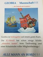 Flugblatt bei Playmobil-Hersteller Geobra Brandstätter gegen die IG Metall