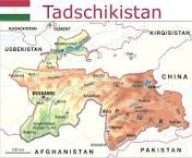 Landkarte Tadschikistan