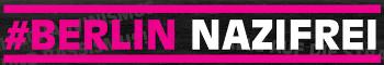 Logo: Berlin Nazifrei