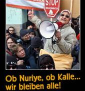 """""""Ob Nuriye, ob Kalle - wir bleiben alle!"""" vom Umbruch Bildarchiv (März 2016)"""