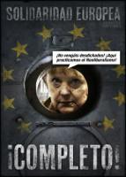 """Spanien: """"Bleibt bloß weg! - Wir machen Neoliberalismus"""" - Plakat zu den Demopnstrationen am 16.3.2016"""