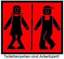 IWW: Toilettenzeiten sind Arbeitszeit!