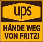ups - Hände weg von Fritz! Aktion von Arbeitsunrecht