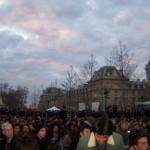 #NuitDebout: Vollversammlungen um Mitte April d.J. (Foto: Bernard Schmid)