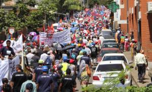 Generalstreikdemo Mayotte 10.4.2016