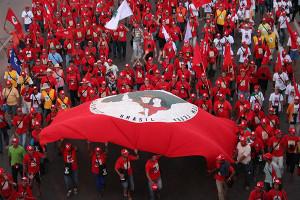 Brasilien: MST-Demo in Parana am 9.4.2016