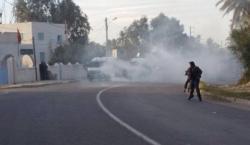 7.4.2016 Protest bei Petrofac. Kerkennah Insel (Tunesien)