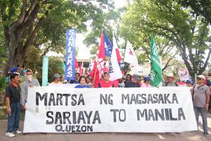 Solimarsch auf Manila 15.4.2016