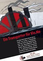 Spendenaufruf: EIN TRANSPORTER FÜR VIO.ME!